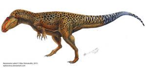Iguanodon's nightmare by Xiphactinus
