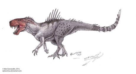 #buildabetterfaketheropod - Gorgon-Rex by Xiphactinus