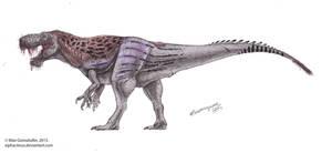 Inostrancevia-Tyrannosaurus hybrid