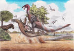 Don't mess with ornithomimids