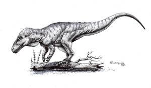 Sensing dinner - Fukuiraptor kitadaniensis