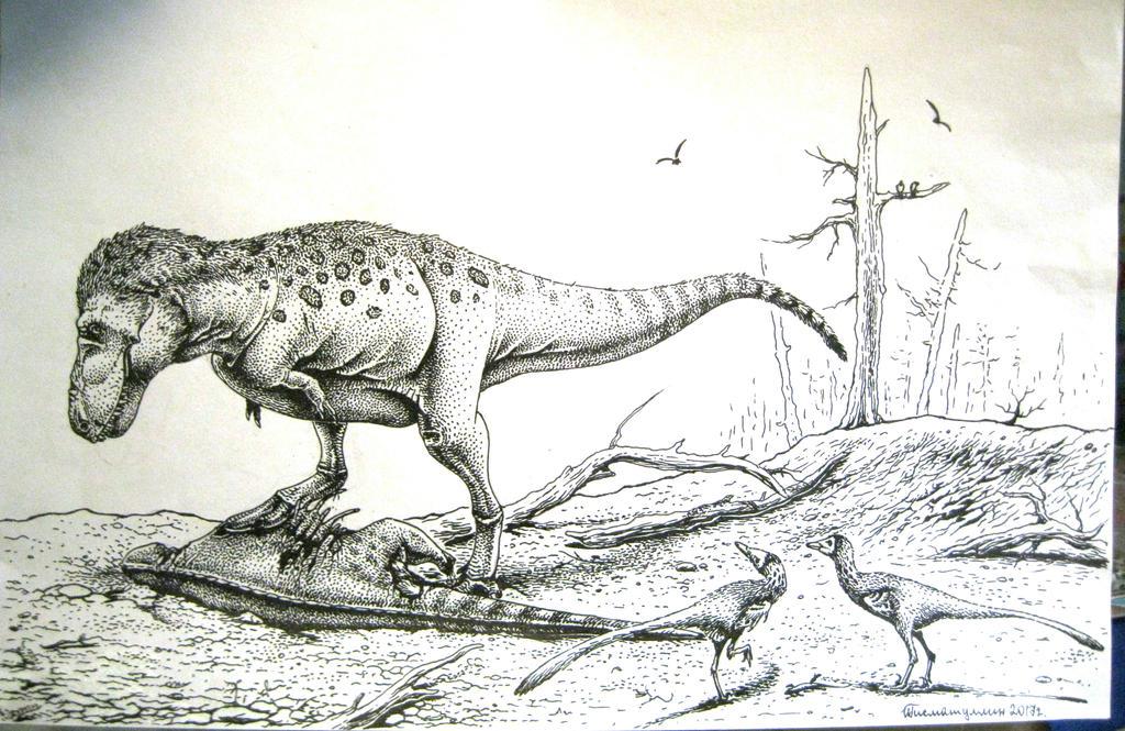 http://img06.deviantart.net/ca24/i/2017/156/4/b/tyrannosaurus_rex_and_pectinodon_by_xiphactinus-dbbmce0.jpg