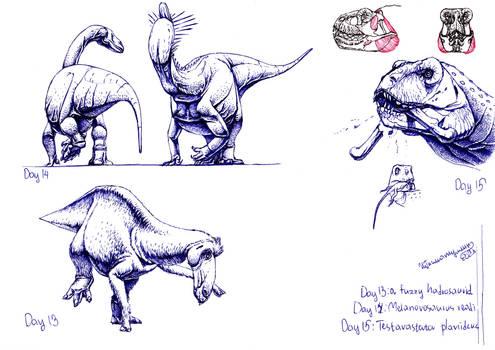 30 Day Dinosaur Challenge: 13-15 Days