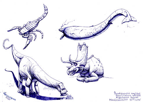 Paleostream drawings 06.06.2020