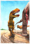 Torvosaurus gurneyi hunt - remake