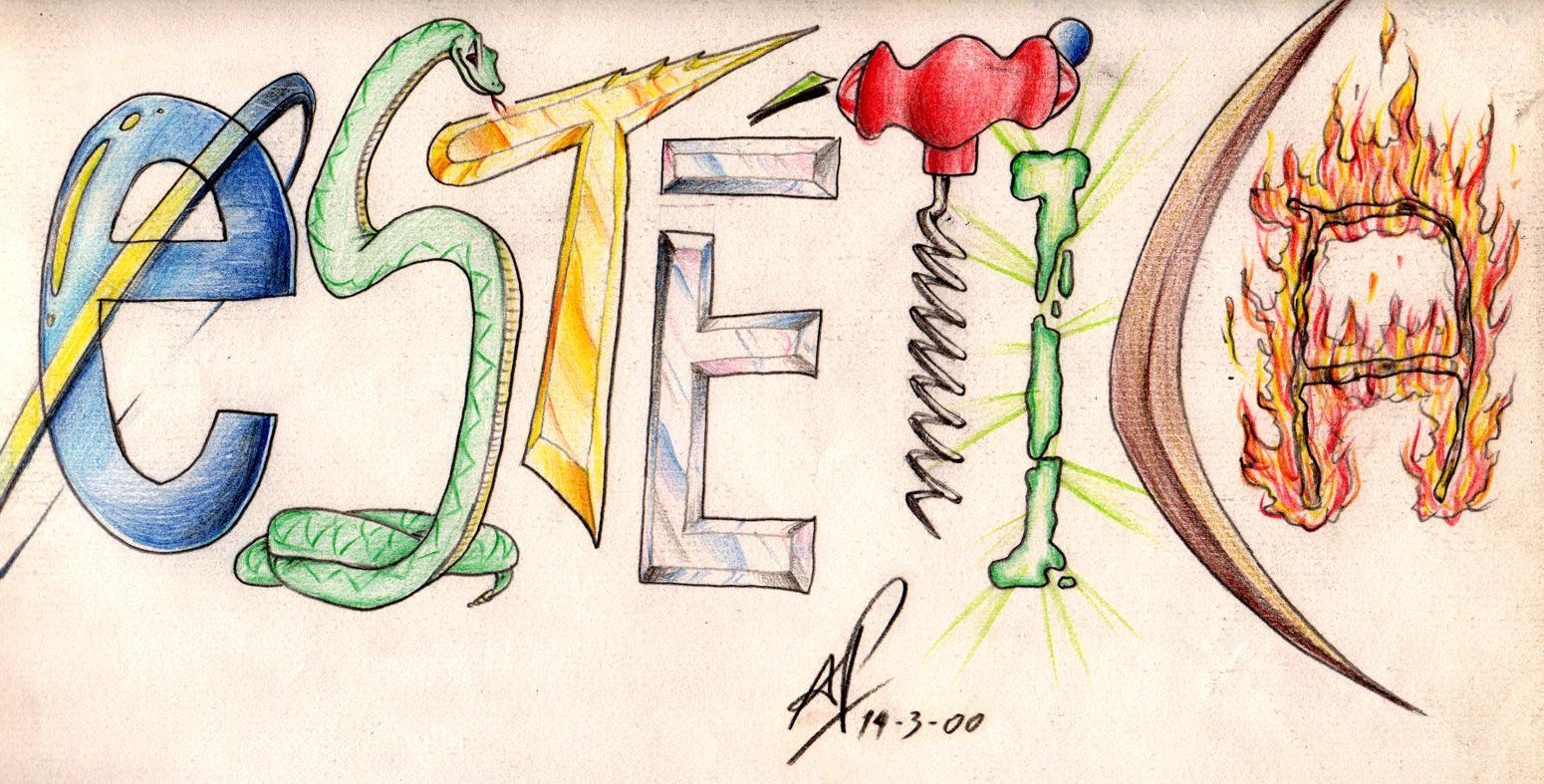 Diseno de letras estetica by andyprophet on deviantart for Disenos de literas