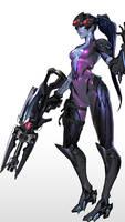 Overwatch - Widowmaker II by FenrixIX