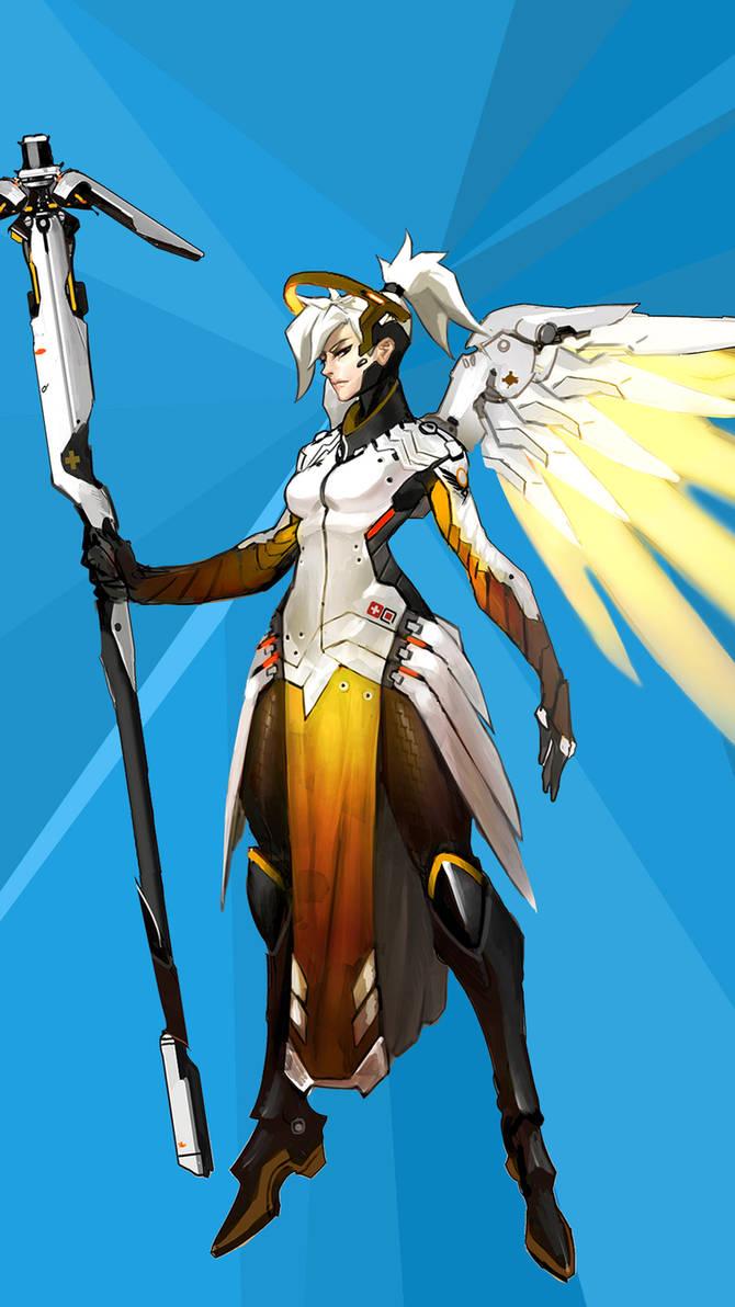 Overwatch - Mercy I by FenrixIX