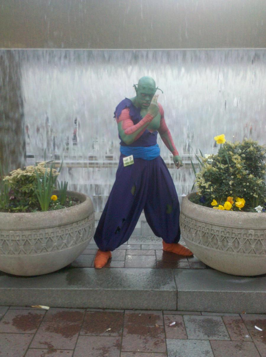Piccolo in West City by Izeekial