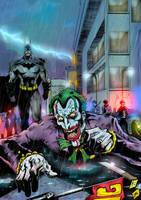 Joker's  joke! by puzzlepalette