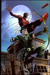 Daredevil and Green Arrow