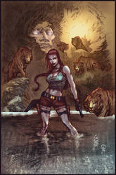 Tomb Raider by puzzlepalette