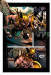 Hawkman by puzzlepalette