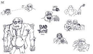 Bad Taste - Doodles
