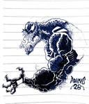 Venom Doodle