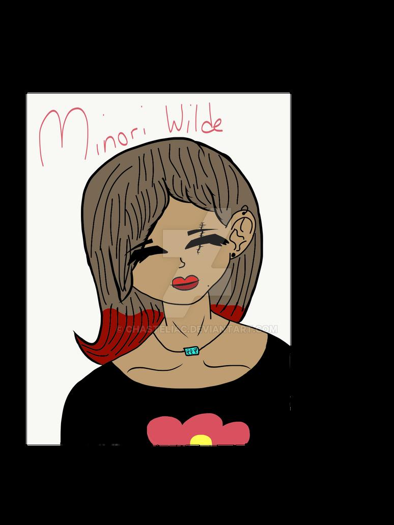 My OC Minori Wilde. by chasteliac