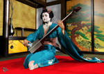 Shamisen Geisha