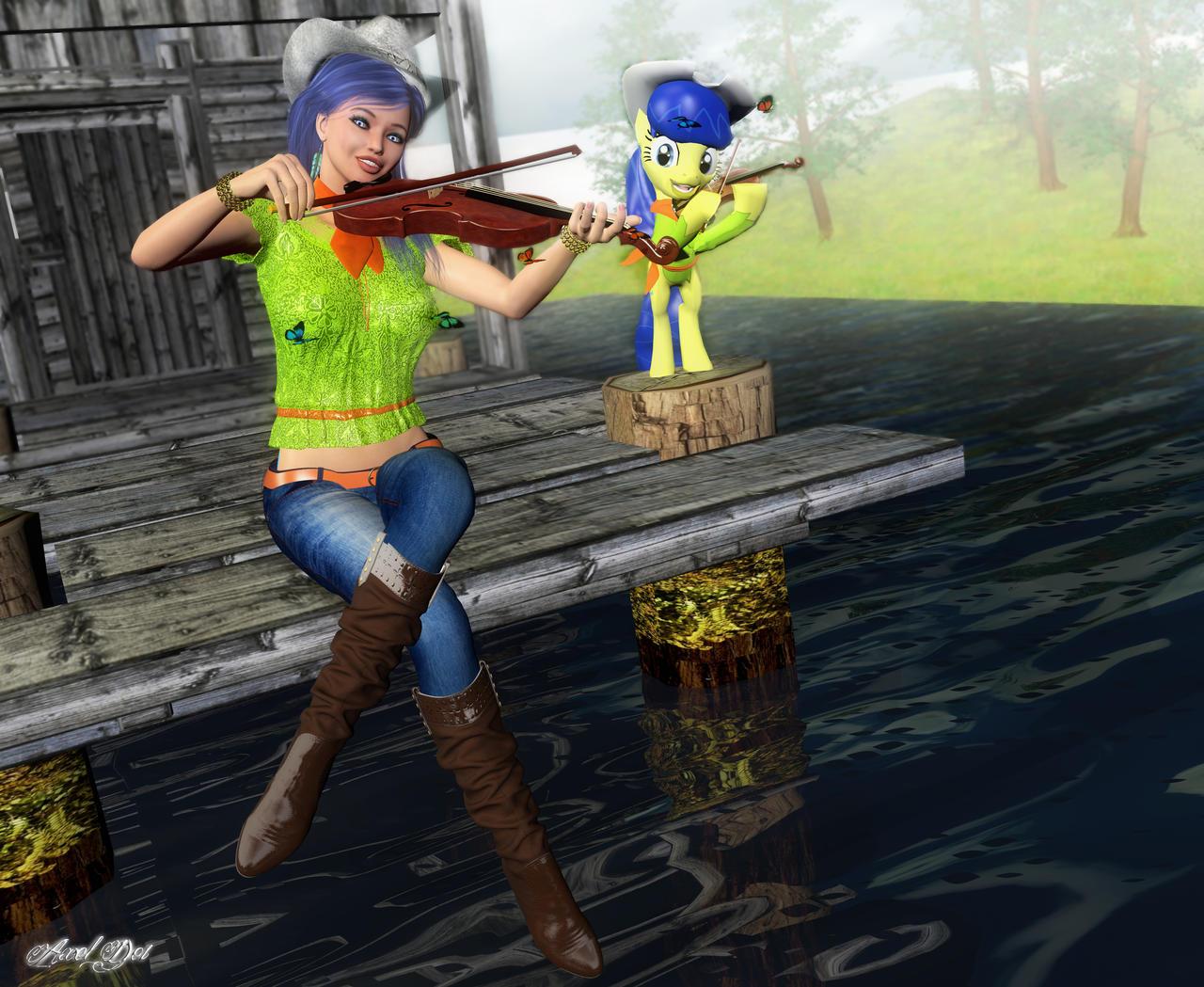 My Little Pony: Fiddlesticks by Axel-Doi