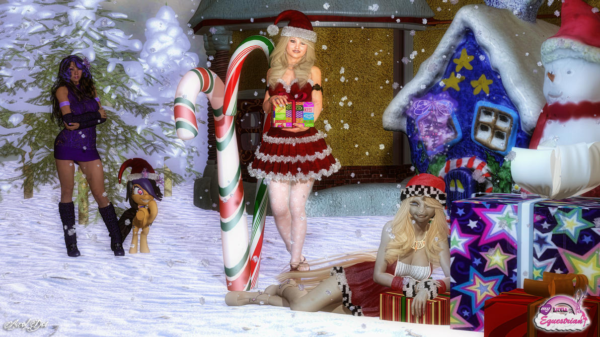 A Very Tara Christmas: Wallpaper by Axel-Doi