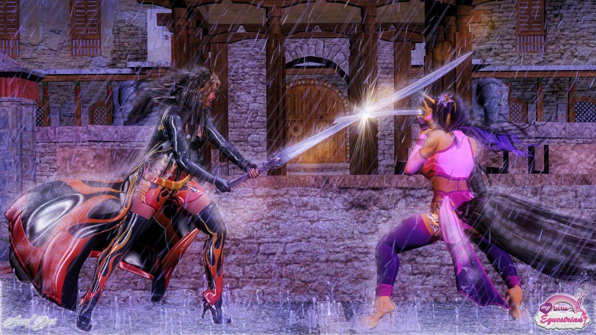 Everlasting Duel: Wallpaper by Axel-Doi