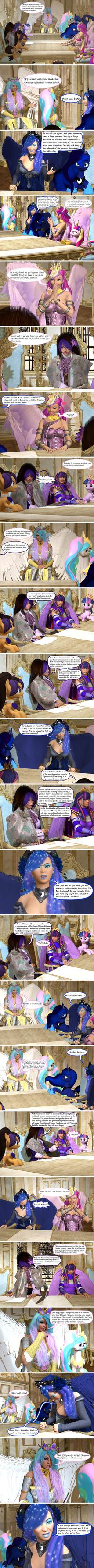 The Lunar Eclipse (Part 2) by Axel-Doi