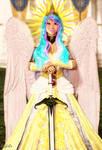 Princess Celestia (Genesis 3 Remake) and Backstory by Axel-Doi