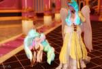 Princess Celestia (Equestrian and Pony) by Axel-Doi