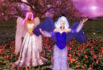 Celestia and Luna (Sister's Joy) by Axel-Doi