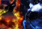 Axel vs. Nightmare Moon (Battle between Despairs)