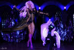 Nightmare Rarity (Equestrian and Pony)