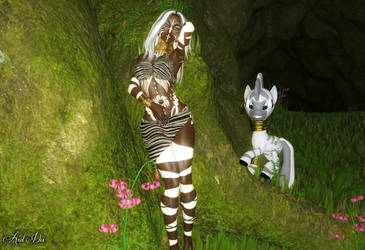 Zecora: Equestrian and Zebra