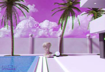 Modern Paradise by Axel-Doi