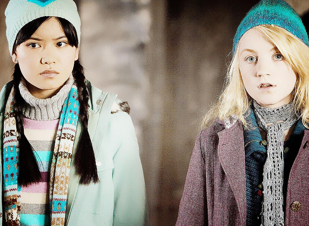 29 best images about Harry Potter on Pinterest | The ...  |Luna Lovegood And Cho Chang