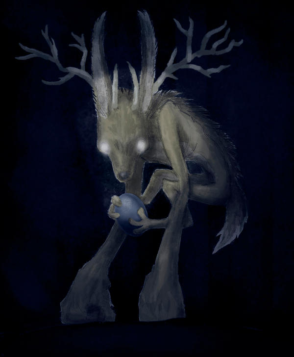 Scary jackalope