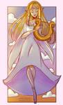 Goddess Zelda by Joulienne