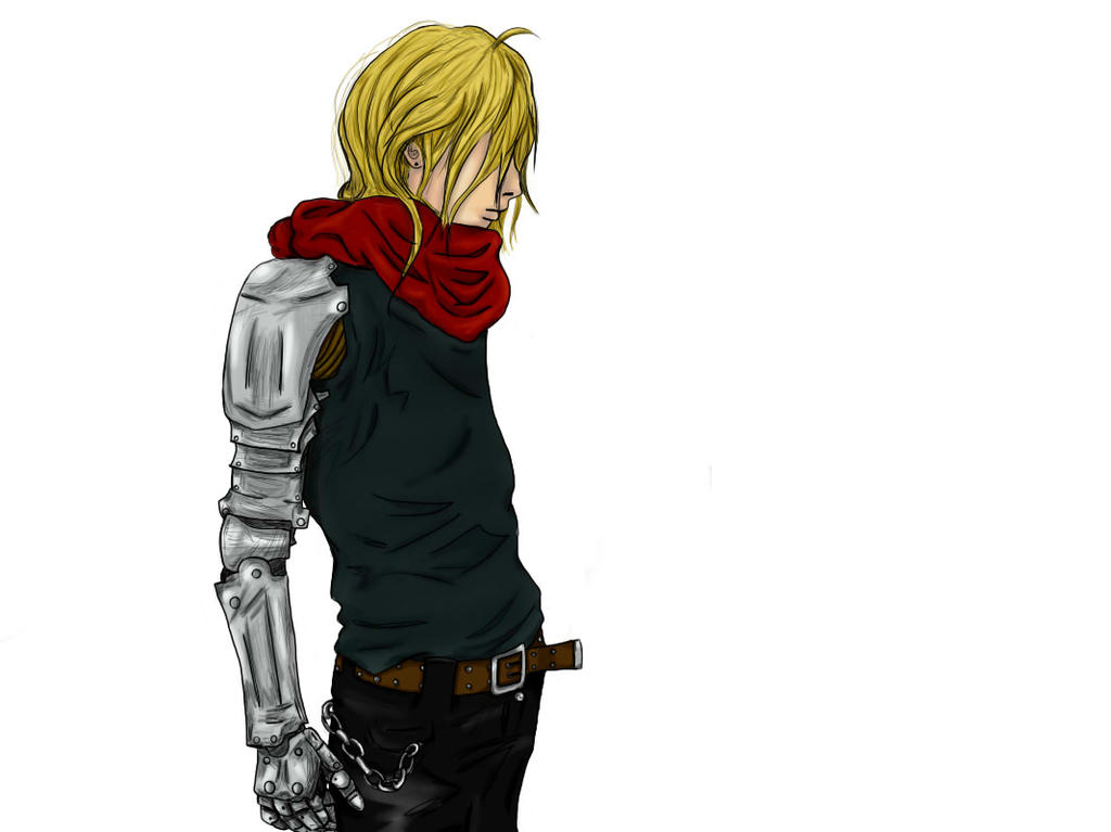 Edward Elric by SpaceDementia49