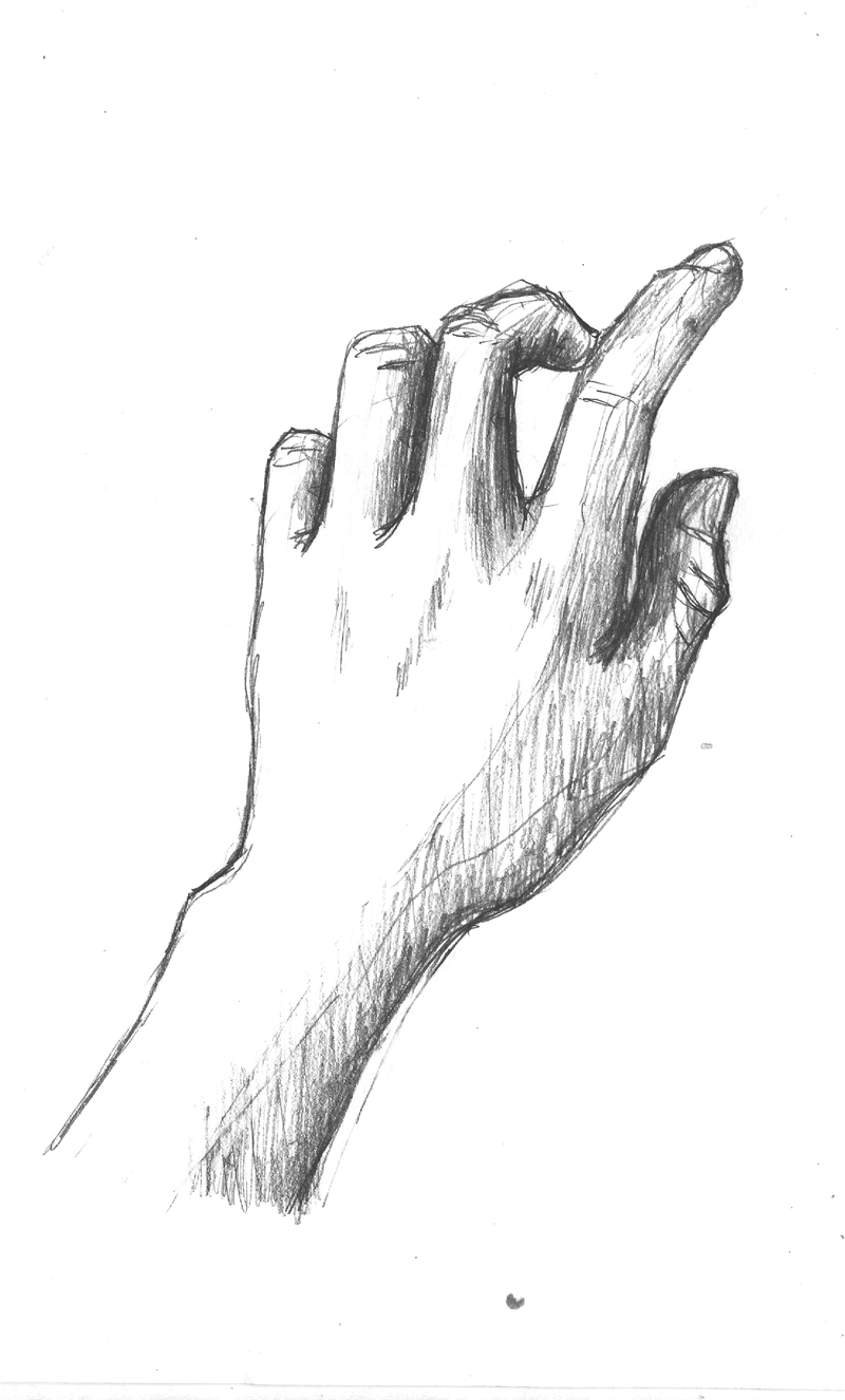 Hand Sketch 01.07 by Lyanaling on DeviantArt