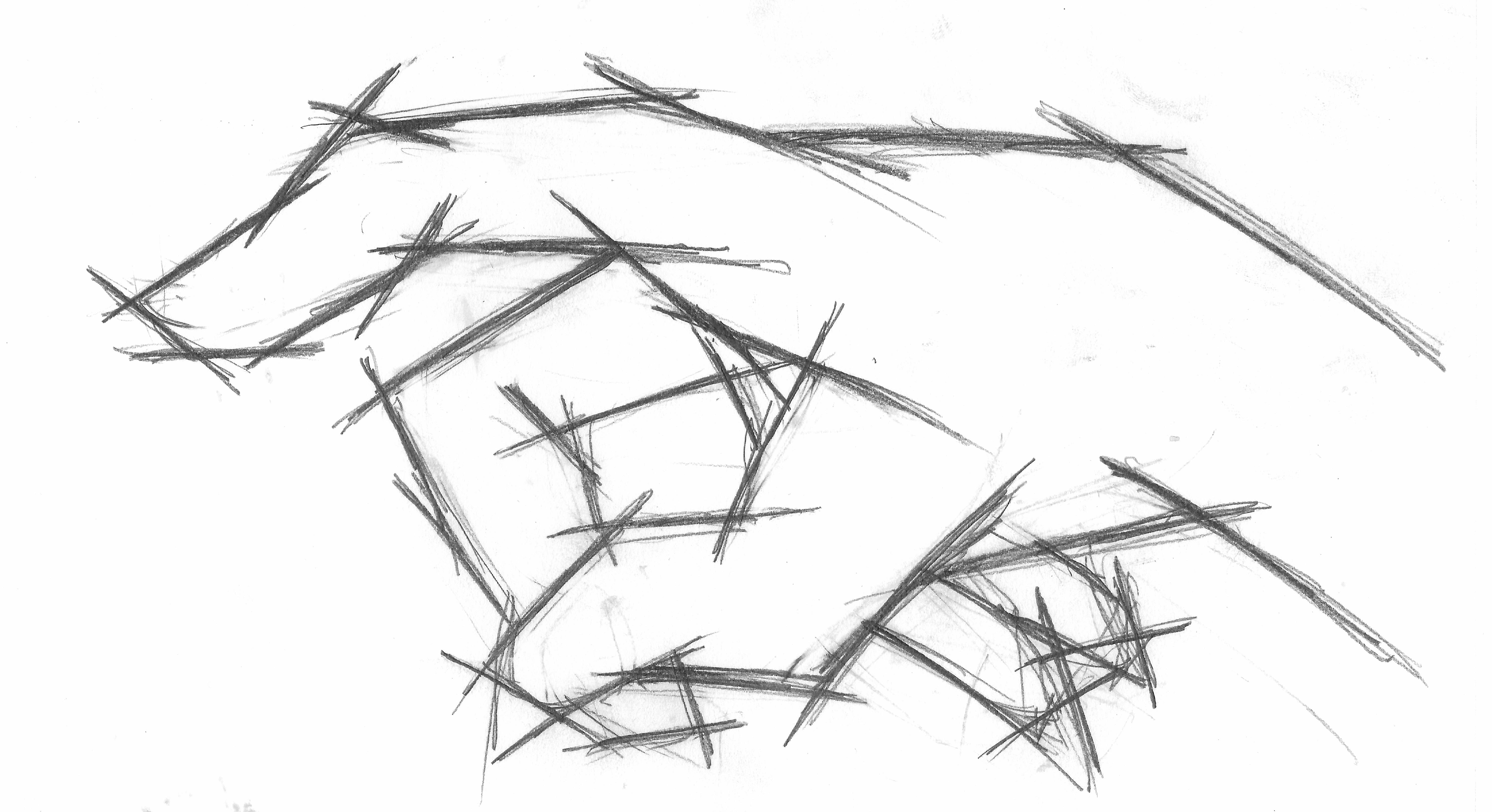 Line Drawing Sketches : Line frame hand sketch by lyanaling on deviantart