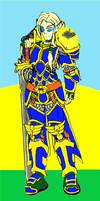 Warcraft: High Elf Paladin