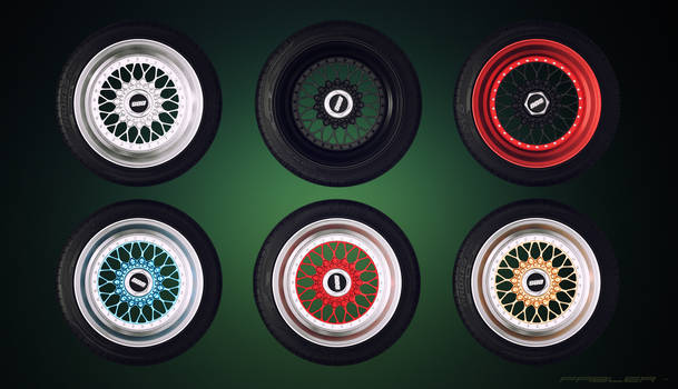 BBS RS - 6 colors