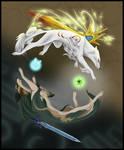 Lupine Yin Yang - Color