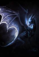 Blue dragon by Dark-Sheyn