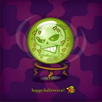 Happy Halloween by sporeboy