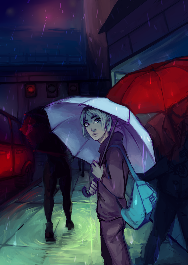 Rainday by iWillBite