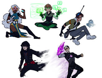 Overwatch x Voltron by iWillBite