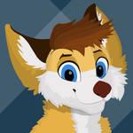 Zyrie Fox minimalist lineless headshot by zyriefox
