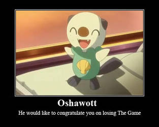 Oshawott congratulates you by PuebloDoG62