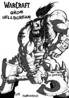 Grom Hellscream by DarkTod