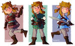 Breath of the Wild Link Doodles