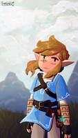 Another BotW Link by Chromel